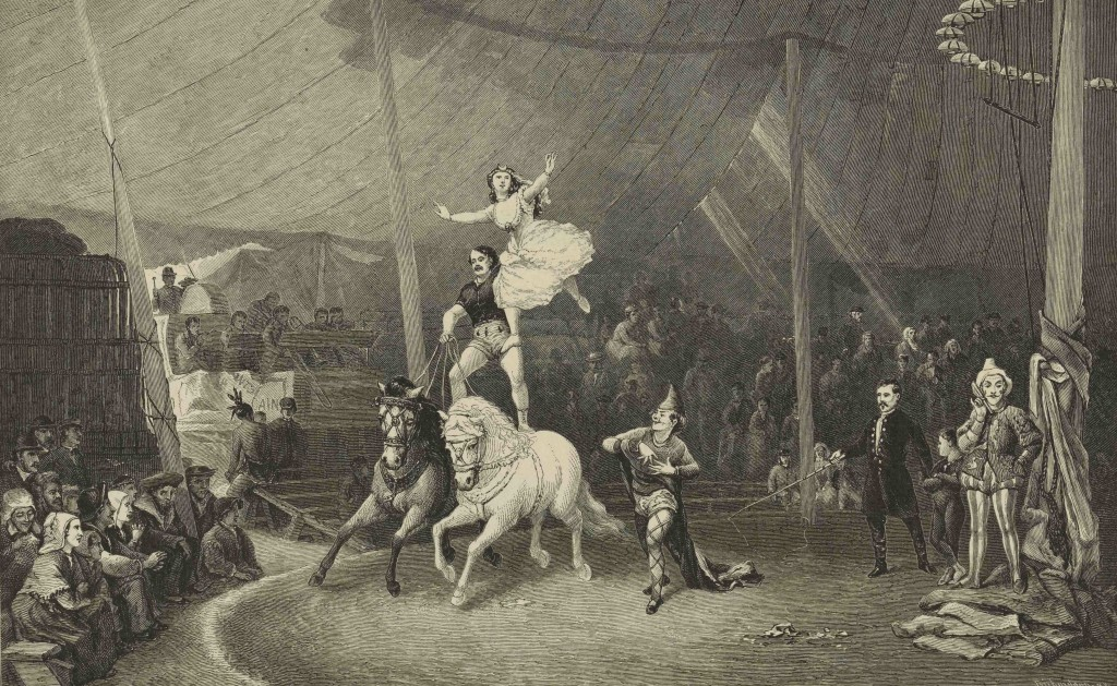 geraty, after bridgman-american circus in france