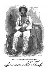 Illustration from 1855 edition of Twelve Years a Slave